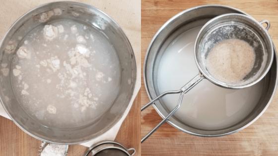 oatmeal and breast milk bath