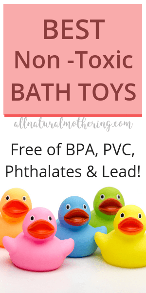 bath toys that are free of BPA, PVC, Pthalates and lead.