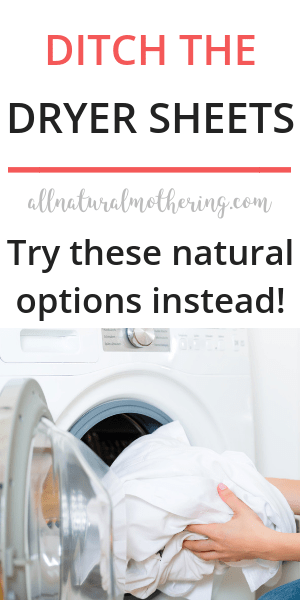 non toxic dryer sheets alternatives.