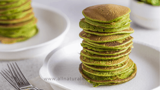 Simply Green Baby Spinach Banana Pancakes Recipe