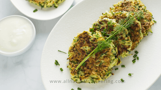 Healthy Zucchini Fritters Recipe for Babies & Toddlers