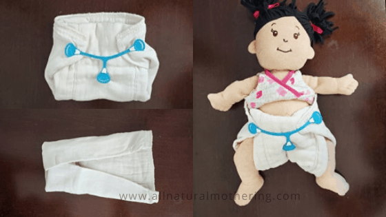 6 Different Ways To Fold & Use a Prefold Cloth Diaper