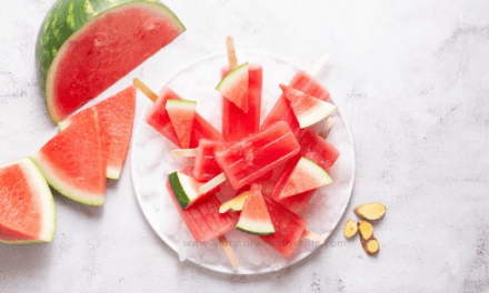 Pregnancy Nausea Popsicles – Watermelon + Ginger