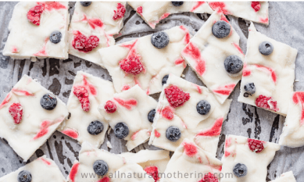 Frozen Baby Led Weaning Yogurt Bark Recipe