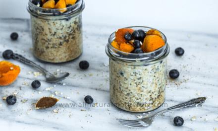 Lactation Boosting Overnight Oats & Chia Recipe