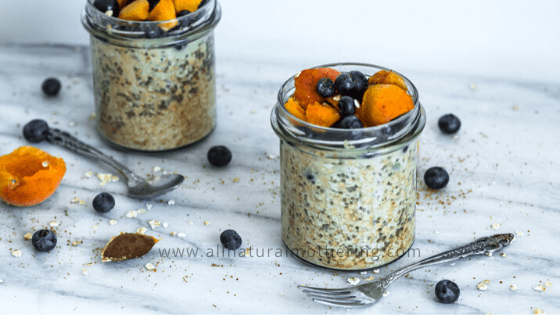 Lactation Boosting Overnight Oats & Chia Recipe