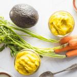 Delicious Apple + Avocado + Carrot Baby Puree Recipe