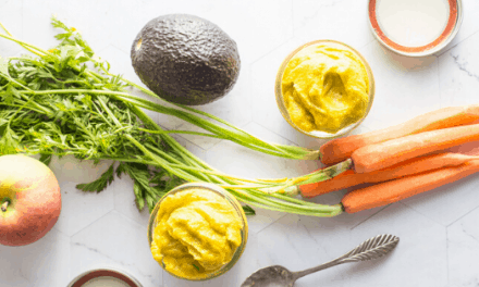Delicious Apple + Avocado + Carrot Baby Puree Recipe