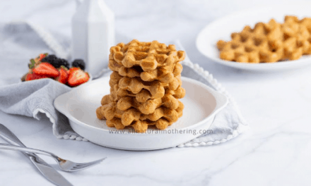 BabyLed Weaning Sweet Potato Waffles Recipe