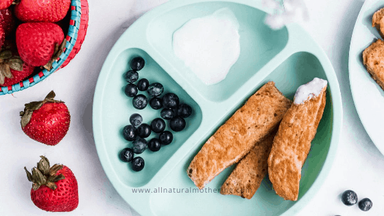 Baby French Toast (Without Milk) Recipe