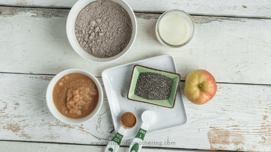 BLW Apple Cinnamon Pancakes for Babies and Toddlers