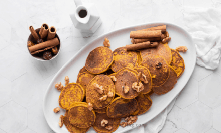 Toddler Friendly Pumpkin Pancakes Recipe