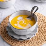 Baby Pumpkin Carrot Soup Recipe