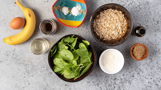 easy blender spinach muffins for toddlers