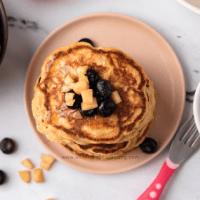 toddler apple pancakes breakfast
