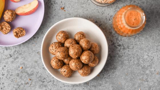 toddler oatmeal energy balls recipe