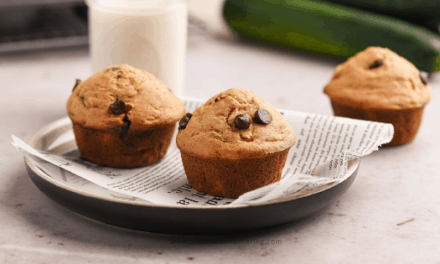 Healthy Toddler Zucchini Muffins